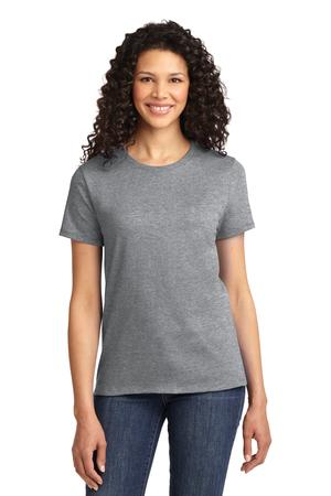 Womens Athletic Heather Round Neck T-Shirt