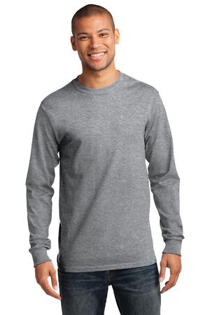 Mens Athletic Heather Long Sleeve Tshirt