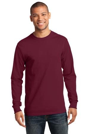 Mens Cardinal Long Sleeve Tshirt