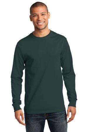 Mens Dark Green Long Sleeve Tshirt