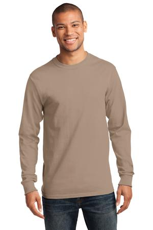 Mens Sand Long Sleeve Tshirt