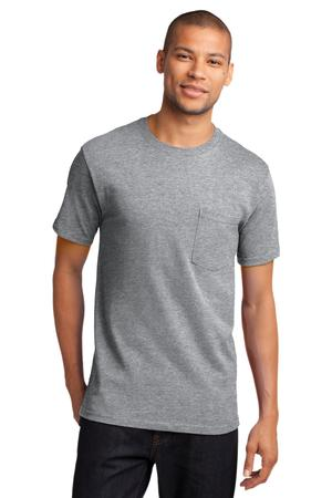 Mens Athletic Heather Tshirt with Pocket