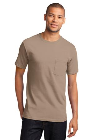 Mens Sand Tshirt with Pocket